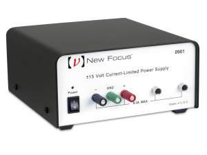 model 0901 power supply for New Focus sensors, detectors, receivers, and amplifiers