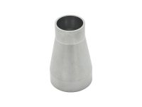 1.5 inch to 1 inch butt weld vacuum tube conical reducer fitting