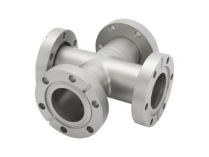 CF ConFlat Flange 4-Way Cross Fitting