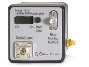 model 1544 12 GHz photoreceiver