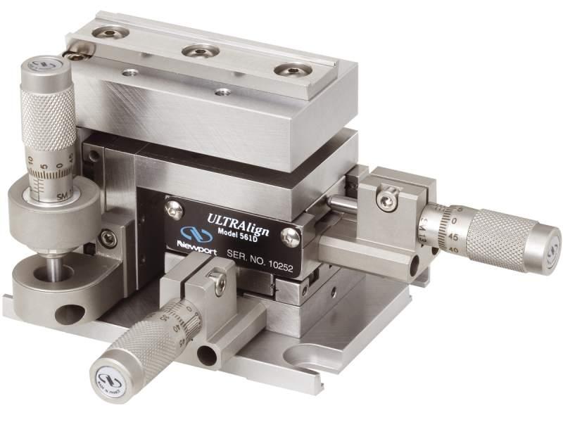 Ultralign Precision Fiber Optic Alignment Stages