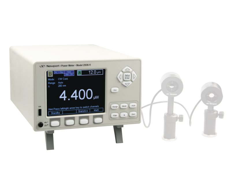 Benchtop Optical Power and Energy Meters