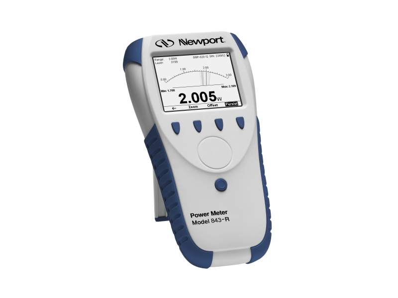 Laser Energy Meters : 843 r economical handheld laser power meter
