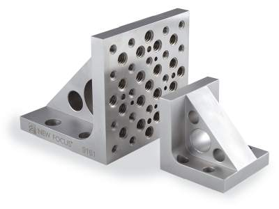 new focus stainless steel 90 degree angle brackets with 2 bracket sizes shown