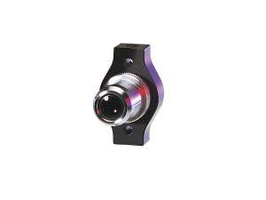 microscope objective lens mount model 9836 shown with objective lens