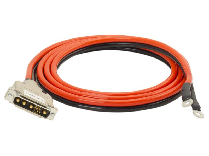 Cable Laser Diode Driver 70 Amp 9W4 Male To Ring Lug