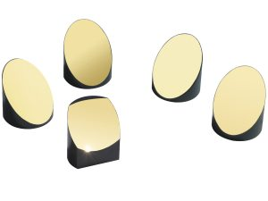 collection of off-axis parabolic mirrors with metallic coatings