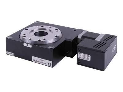 Fcr100 intelligent stepper motor rotary stages for Stepper motor integrated controller
