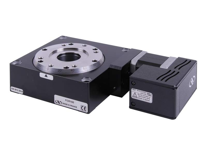 fcr100 intelligent stepper motor rotary stages