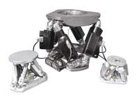 three sizes of hexapods from the hxp hexapod series