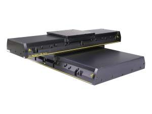 IDL series industrial linear stages in an xy stage configuration