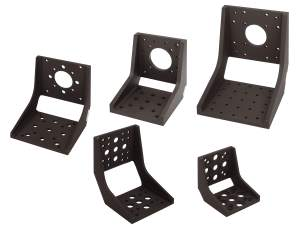 eq series 90 degree angle brackets with multiple angle bracket sizes shown