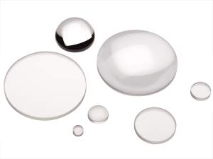 collection of n-bk7 plano-convex spherical lenses