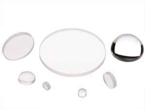 collection of uv fused silica plano-convex lenses