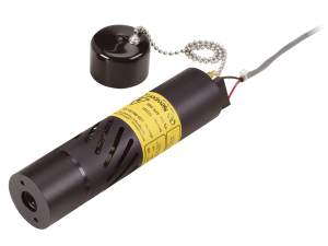 laser diode module shown with protective cap