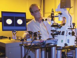 two photon experiment at Newport technology and applications (TAC) lab