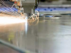 industrial laser cutting application