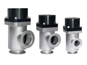 low-profile, single-stage, bellows-sealed vacuum valves