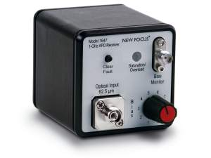 model 1647 avalanche photodiode (APD) photoreceiver