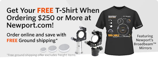 Get Your FREE T-shirt when Ordering $250 or More at Newport.com