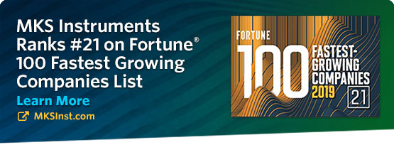 MKS Instruments Fortune 100 Award