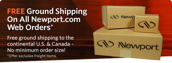 FREE Ground Shipping for All Newport.com Orders to U.S. & Canada