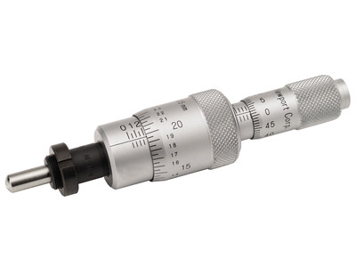 Differential Micrometers, such as this DM-13, provide both coarse and fine adjustment in one actuator
